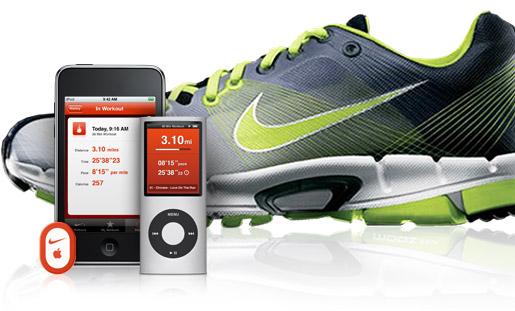 iPod a la carrera
