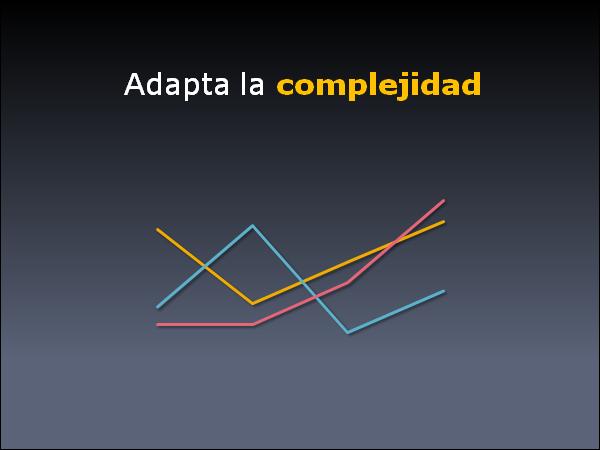 Adapata la complejidad