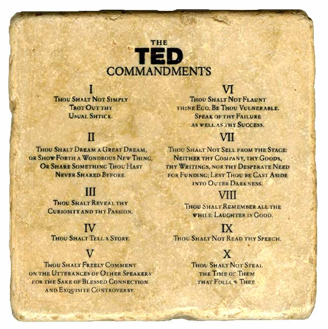Los TED mandamientos