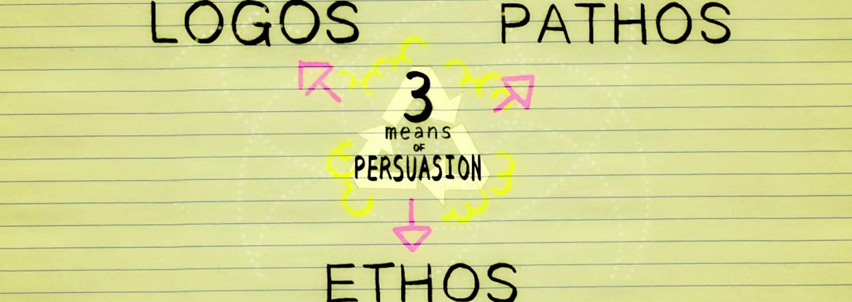3 medios de persuasión: Ethos, Pathos, Logos