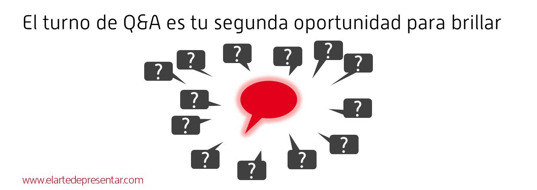 El turno de Q&A es tu segunda oportunidad para brillar