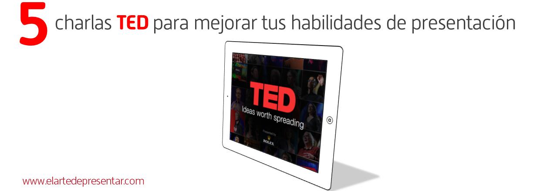 Mejora tus presentaciones con estas charlas TED