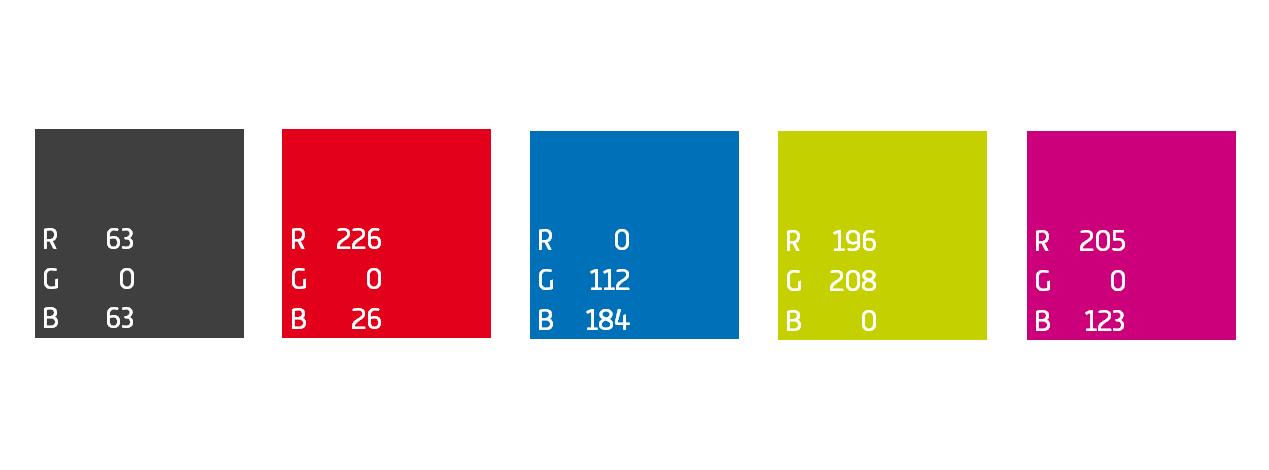 Tus colores corporativos a incluir en todas tus presentaciones