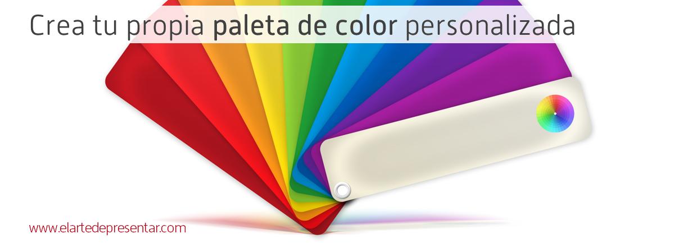 rea tu propia paleta de color