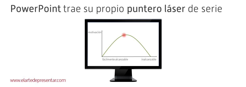 PowerPoint trae de serie su propio puntero láser