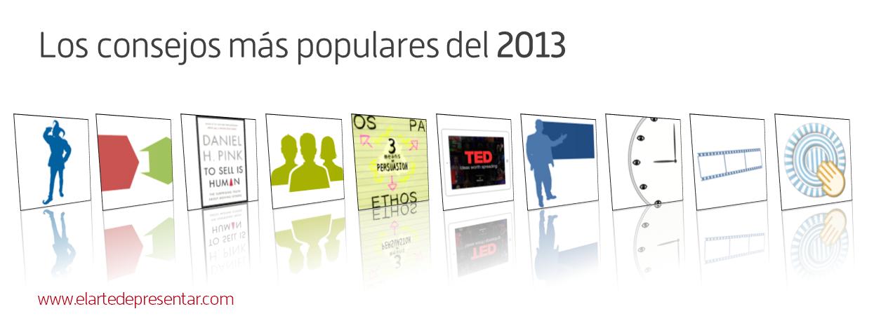 Los artículos sobre presentaciones más populares del 2013