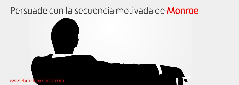 Persuade en tus presentaciones de productos y servicios con la secuencia motivada de Monroe