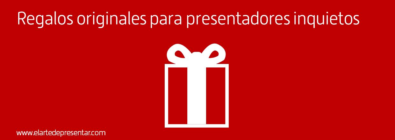 Cinco sugerencias para regalar en 2016 a los amantes de las presentaciones