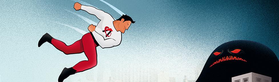 ¡Un nuevo superhéroe llega a la ciudad!