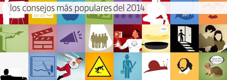 Los artículos sobre presentaciones más populares del 2014