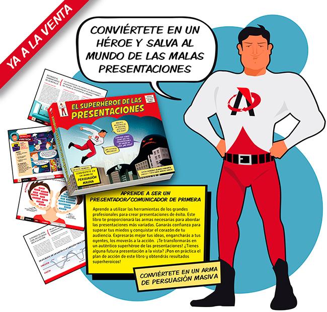 """Ya ha salido a la venta nuestro último libro """"El Superhéroe de las Presentaciones"""""""