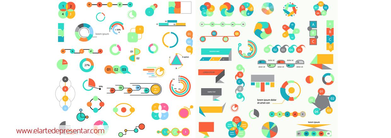 Más alternativas a las listas de viñetas: usa diagramas para reforzar sin palabras tus mensajes