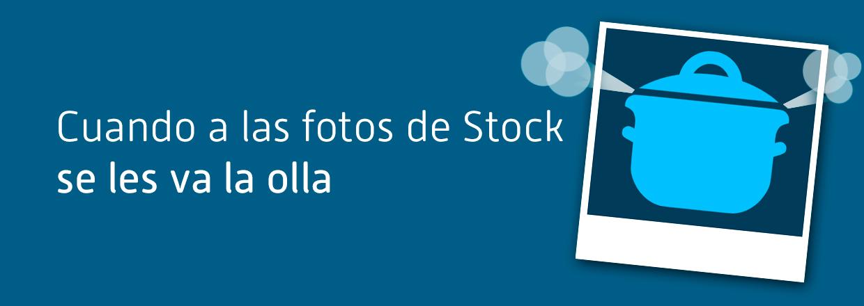 Cuando a las fotos de Stock se les va la olla