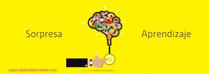 Introduce la sorpresa a través del juego para fijar la información en la memoria de tu audiencia