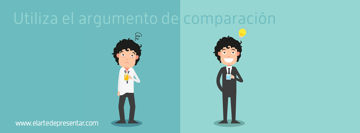 No afirmes sin más: enriquece tus argumentos con comparaciones y contrastes