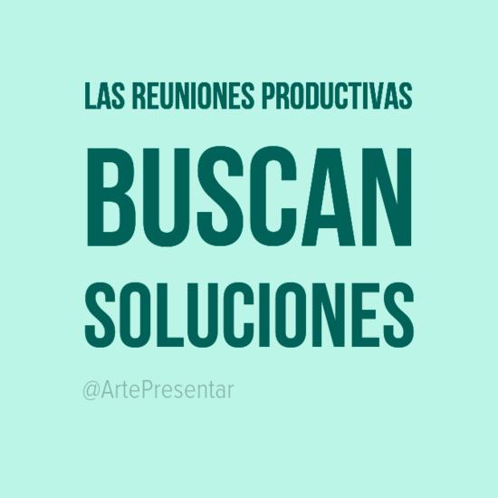 Las reuniones productivas buscan soluciones