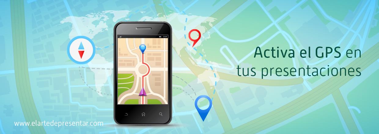 Activa el GPS en tus presentaciones y evita que tu audiencia se pierda