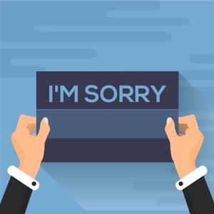 Guía paso a paso sobre cómo preparar una disculpa cuando tu organización la pifia