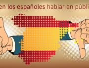 Saben los españoles habla en publico