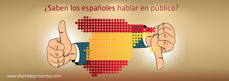 ¿Saben los españoles hablar en público?