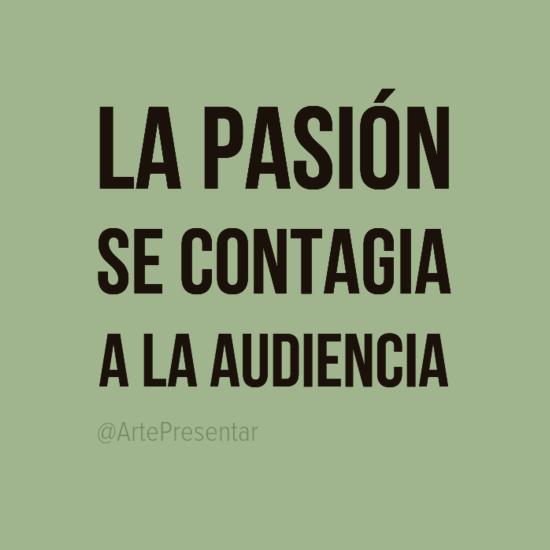 #citas La pasión se contagia a la audiencia