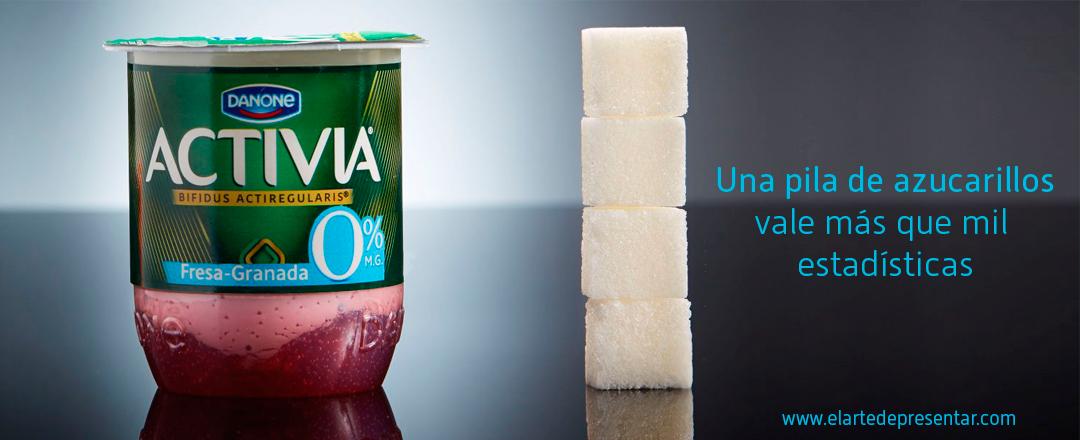 Una pila de azucarillos vale más que mil estadísticas: la exitosa campaña visual de @SinAzucarOrg