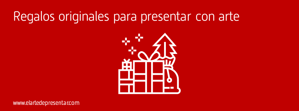 Cinco ideas originales de regalo para quienes quieren presentar con arte estas Navidades 2019