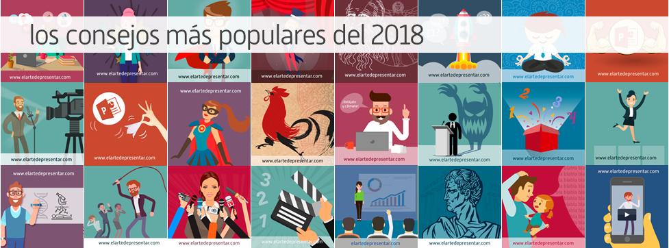 Los contenidos sobre presentaciones más populares del 2018